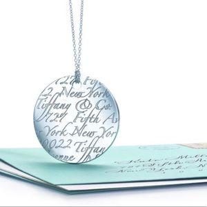 Tiffany & Co. Notes Circle Pendant
